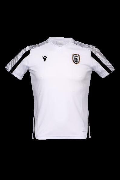 T-shirt Προθέρμανσης ΠΑΟΚ Μαύρο/Λευκό/Γκρι Παιδικό 21-22 011641