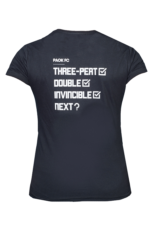 Γυναικειο t-shirt  ΠΑΟΚ GREEK CUP WINNERS 009588