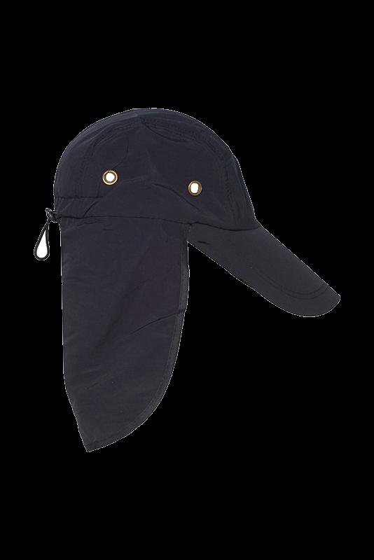 Καπέλο ΠΑΟΚ Μαύρο Με κάλυμα Για Τον Λαιμό