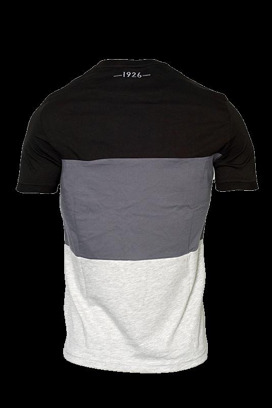 MACRON Τ- shirt ΠΑΟΚ Παιδικο  Μαυρο Γκρι 009913