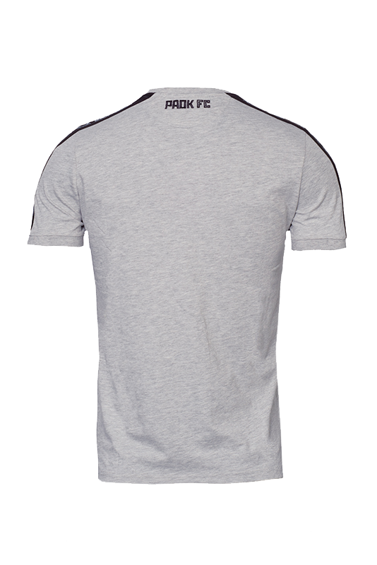 MACRON Τ- shirt ΠΑΟΚ Παιδικό Γκρι 009923