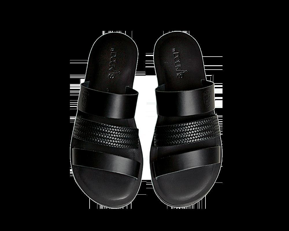 Πέδιλο ΠΑΟΚ Luxury Black 011680