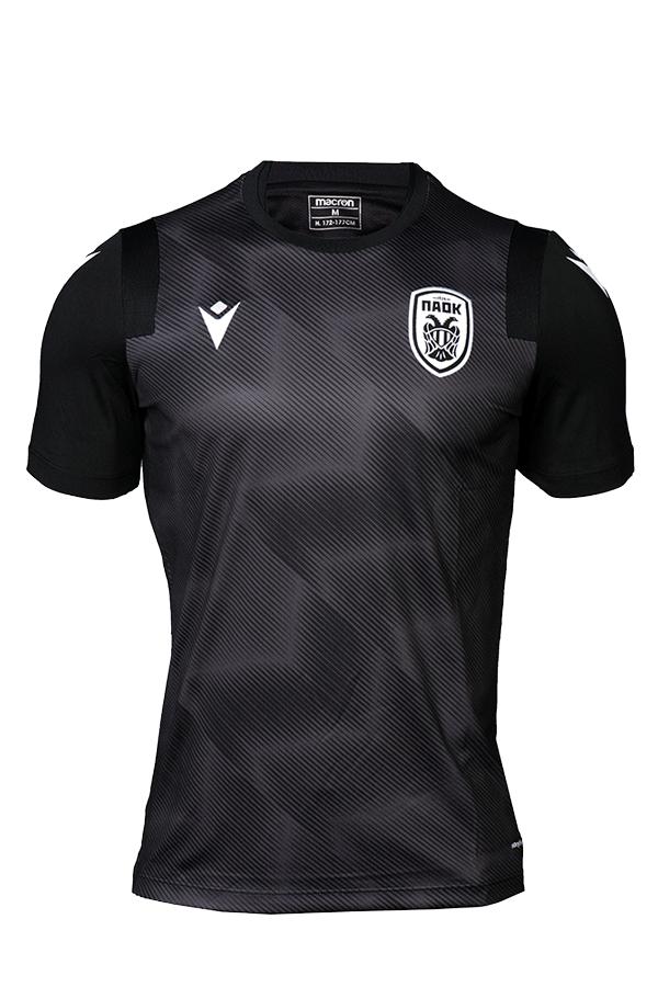T-shirt  ΠΑΟΚ Προπόνησης  Μαύρο  Παιδικό 20-21 010878