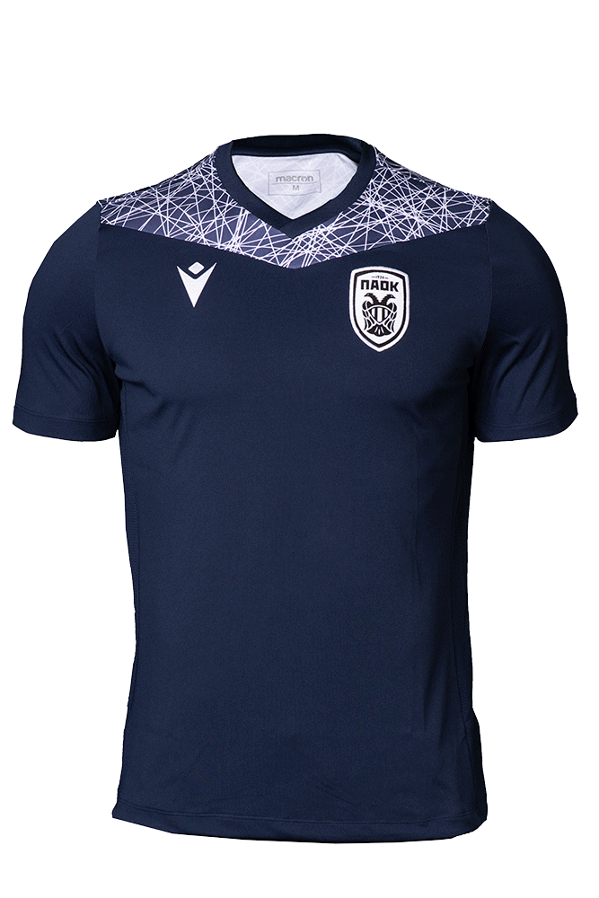 T-shirt  ΠΑΟΚ Προπόνησης  Μπλε 20-21 010885