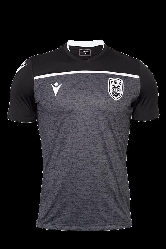 T-shirt  Προθέρμανσης  Μαύρο Γκρι  ΠΑΟΚ 19-20 009854