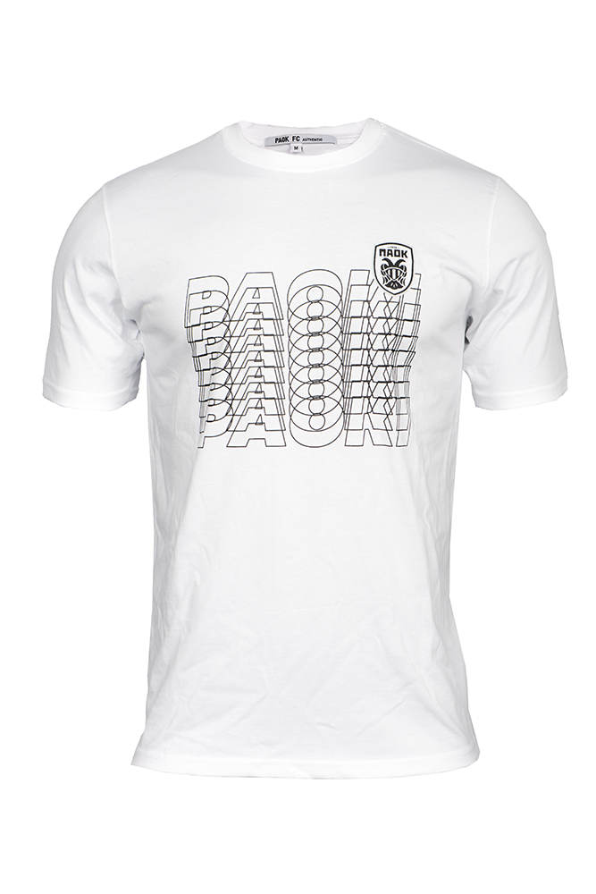 T-shirt ΠΑΟΚ Λευκό Paoki 011550