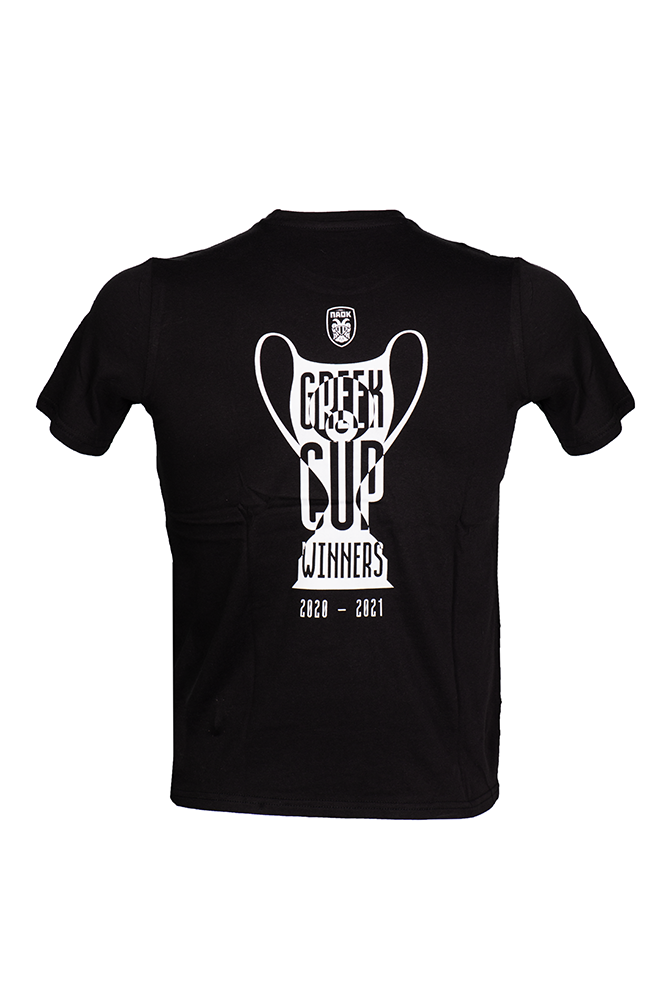 T-SHIRT ΠΑΟΚ ΠΑΙΔΙΚΟ GREEK CUP WINNERS 20-21 011537
