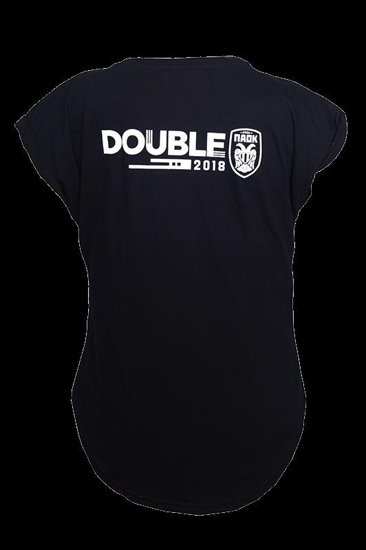 T-Shirt ΠΑΟΚ Πρόεδρε Για Σένα 2018 Double Γυναικείο 008660