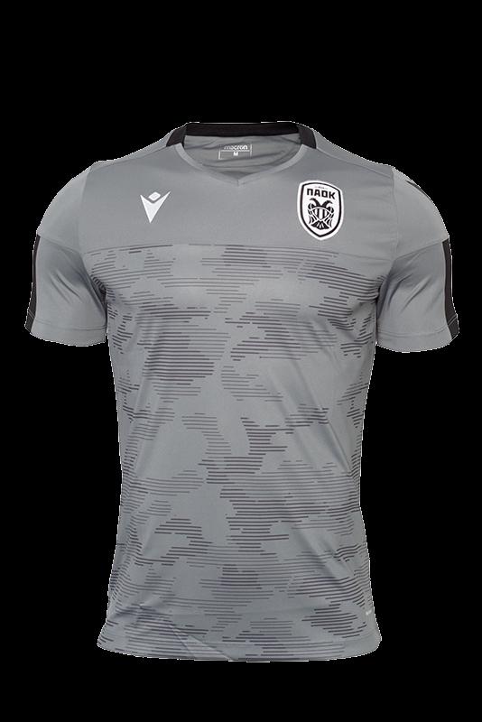 T-shirt ΠΑΟΚ Προπόνησης Γκρι Παραλλαγή 19-20 009860